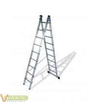 Escalera doble c/base 9x2 4,48