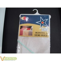 Mantel confe.maravilla 1,20red