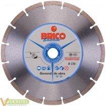 Disco sinteri.c/seco brico-115