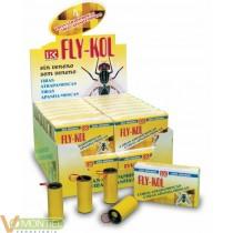 Tira atrapamoscas fly-kol