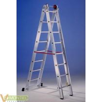Escalera mixta aluminio 2x10 p