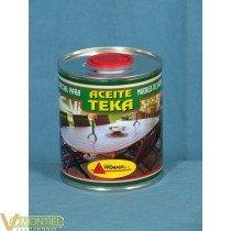 Aceite teca incoloro 375ml aat