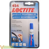 Adhesivo loctite gel 454 3gr.