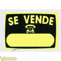 Cartel 'se vende' v51 50x35