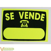 Cartel'se vende'radiante 50x70
