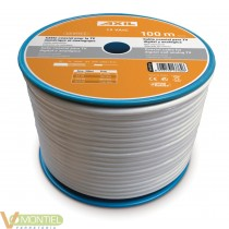 Cable coaxial 19 vatc 100m.