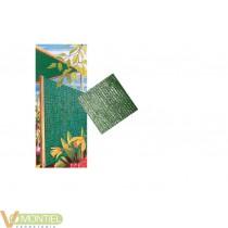 Malla ocultacion verde 1x50mt
