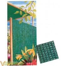 Malla ocultacion verde 2x50mt