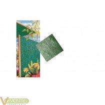 Malla ocultacion verde 2x5mt