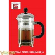 Cafetera embolo 600ml 8tz 3003