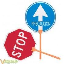 Paleta stop/paso m/plast. 4053