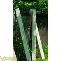Poste madera cuadrado 9x9x80 i