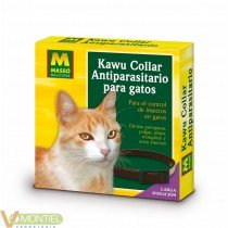 Collar antiparasitario gatos