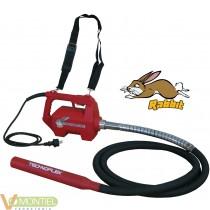 Vibrador 2800w rabbit c/aguja