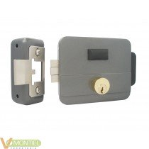 Cerradura electrica con pulsad