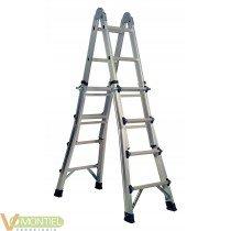 Escalera multiusos aluminio 4x