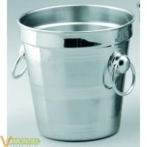 Cubo para hielo 1,5 l. a/inox