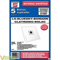Bolsa aspirador lg-solac 91566