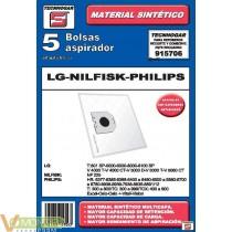 Bolsa aspirador lg-nilfisk-phi