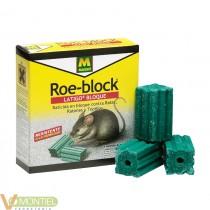 Raticida en bloque. uso domest
