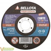 Disco corte inox. bel 125x1x22