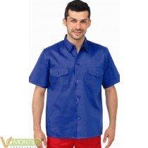 Camisa tergal manga corta zuli