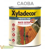 Protector madera mate caoba 75