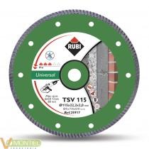 Disco diamante turbo 115mm tsv
