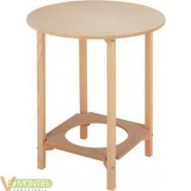 Mesa camilla con agujero 70 cm