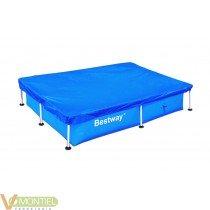 Cobertor piscina rectangular 2