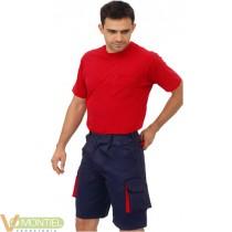 Pantalon corto tergal marino/r
