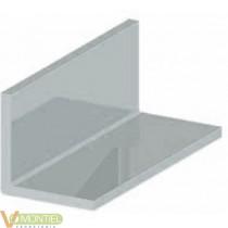 Angulo aluminio anodizado 20x2