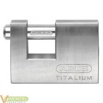 Candado aluminio rectangular 7