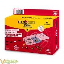 Ecogel cucarachas trampa 15 gr