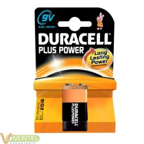 Pila duracell power plus 9v