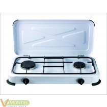 Cocina portatil de gas 2 fuego