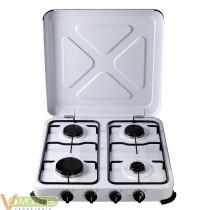 Cocina portatil de gas 4 fuego