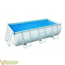 Cobertor solar piscina 375 x 1