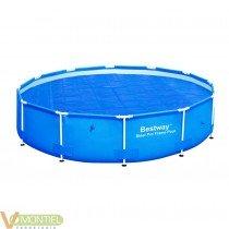Cobertor solar piscina steel p