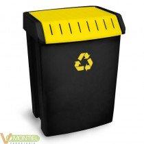 Contenedor plastico reciclaje