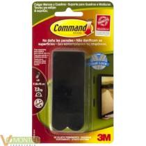 Adhesivo cuadros negro command
