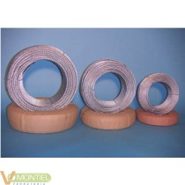 Cable 6x19+1 08mm 100 mt