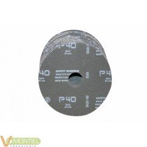 Disco lija 115x22 mm gr 40 nv1