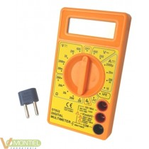 Multimetro digit. prec dt830b