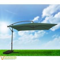 Parasol jard 3x3 m lateral alu