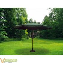 Parasol jardin 3,5mt natuur al