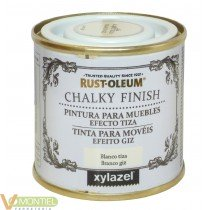 Pintura a la tiza / Chalk Paint Blanco 125 ml
