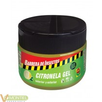 Repelente gel citronella