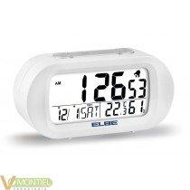 Reloj termometro y luz