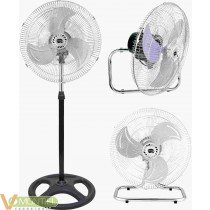 Ventilador pie/suelo/pared 90w